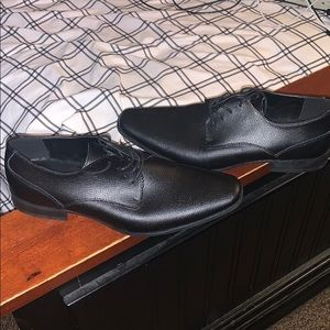 Calvin klein dress shoes with 2 free dress shirts